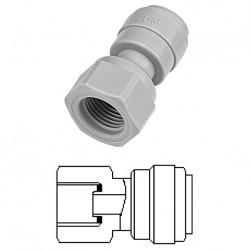 "Female adaptor OD Tube - UNS thread (Cone Type) 3/8"" x 7/16-24"