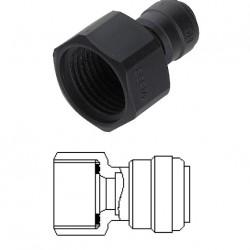 Female adaptor OD Tube - BSP thread (Flat Type) 10MM x 1/4