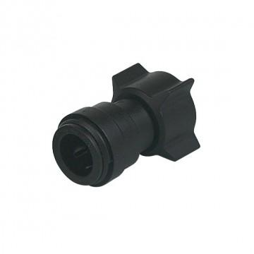 Intermedio diritto girevole Ø tubo - filetto BSP(P) 22MM x 3/4