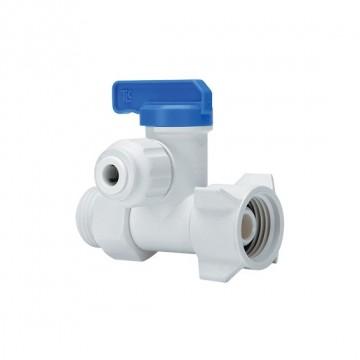 """Hand valve Connector OD Tube – M.xF. BSPP Thread 3/8"""" - 1/2""""x1/2"""""""