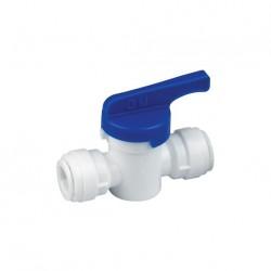 "Hand valve Union Connector (Small) OD Tube - OD Tube 5/16"" x 5/16"""