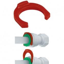 "Clip blocca pinzetta misura in pollici Ø tubo 7/8"""