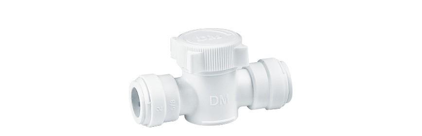 HUC/W Valvola intermedia Ø tubo - Ø tubo (misure larghe)