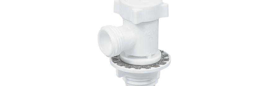 HWM/W Valvola intermedia per lavatrice Ø tubo - Filetto BSPT(PT) (Misura Filetto M)