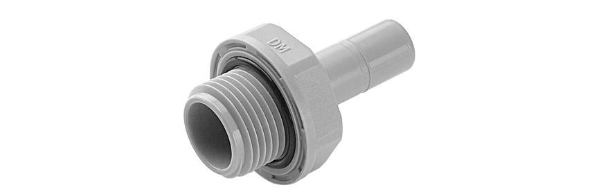 SAB/G Terminale con codolo Ø codolo - filetto BSP(P) cilindrico