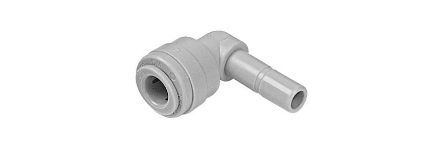 TEU/G Tube Elbow Union OD tube - OD stem