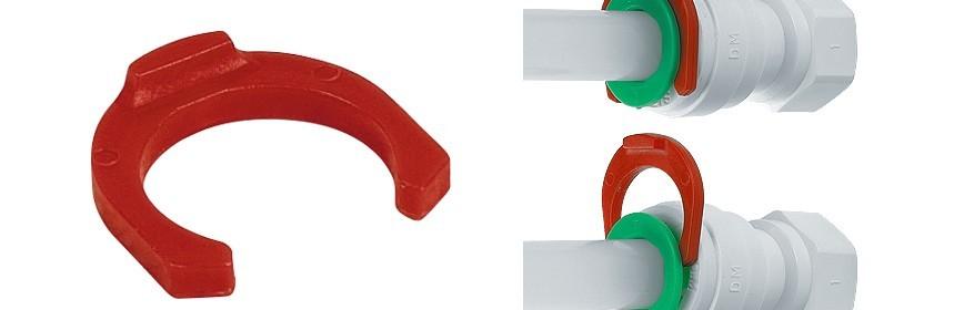 LC Clip blocca pinzetta misura in pollici Ø tubo